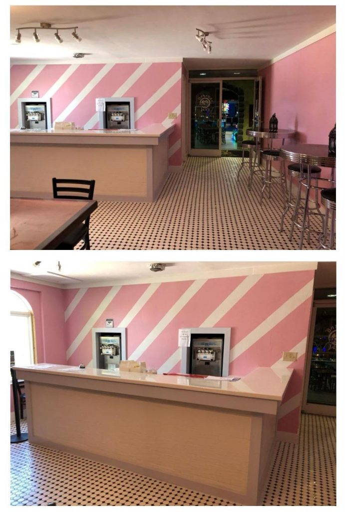 Orlando ice cream shoppes Villas at Regal Palms