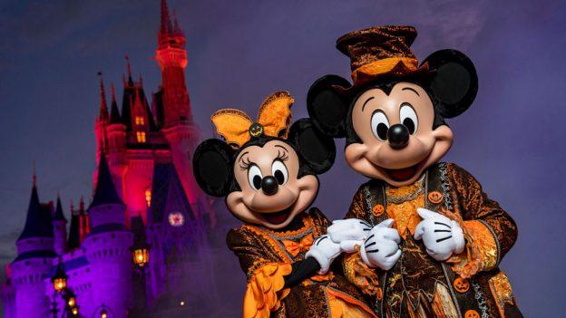 Orlando Halloween events Villas at Regal Palms Resort